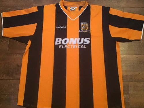 2004 2005 Hull City Home Centenary Football Shirt 2XL XXL